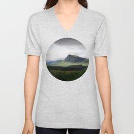 Cloudy Cliff Unisex V-Neck