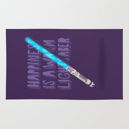 Happiness is a warm Lightsaber Rug