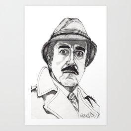 Inspector Clouseau Art Print