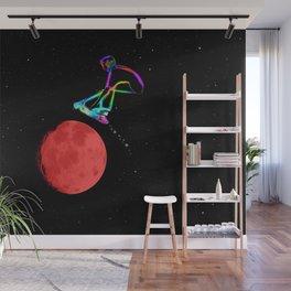 Moon Grabber - Stunt Scooter Rider Wall Mural