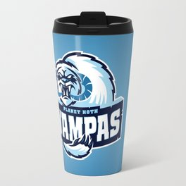 Planet Hoth Wampas - Blue Travel Mug