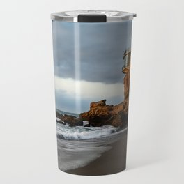 The Lookout over the Beach Travel Mug
