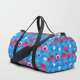 Bubble and circle Duffle Bag