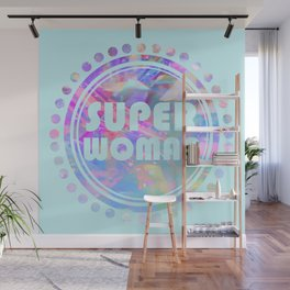 Super woman Wall Mural