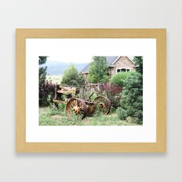 At Home Framed Art Print