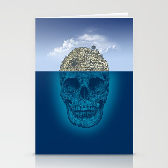 Skull Island Stationery Cards