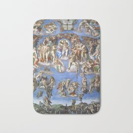 "Michelangelo ""Last Judgment"" Bath Mat"
