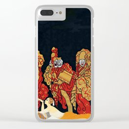"Art Deco Design ""Mah-Jongg"" Clear iPhone Case"