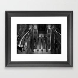 Quiet City Life Framed Art Print