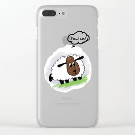 Yes... I can! Clear iPhone Case