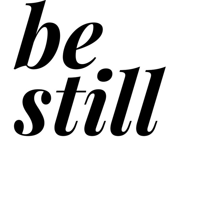be still my soul (1 of 2) Duvet Cover