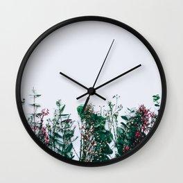 Peeking Nature Wall Clock