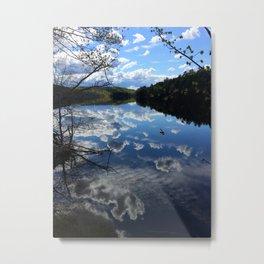 Sky River Metal Print