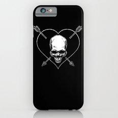 Eros & Thanatos (Jolly Roger Black Flag) iPhone 6s Slim Case