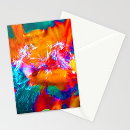 Trippy Fish Stationery Cards