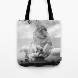 Monkey Sea Monkey Do Tote Bag