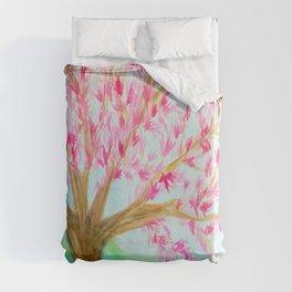 Cherry Blossom Tree Duvet Cover