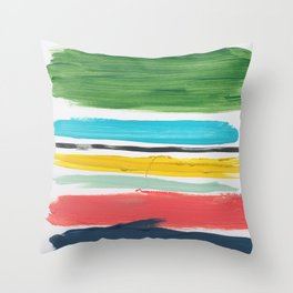 Elements 4 Throw Pillow
