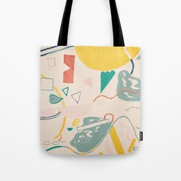 Twisted Energy Tote Bag