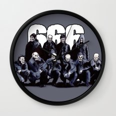SQUAD 666: Bastard Sons of Satan Wall Clock