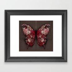 Gothic Butterfly Framed Art Print