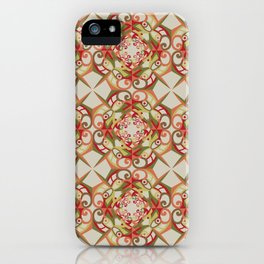 Thanksgiving Tiled - Fall Colors iPhone Case