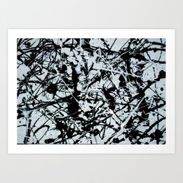 """Black and White I"" Art Print"