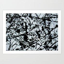 """""""Black and White I"""" Art Print"""