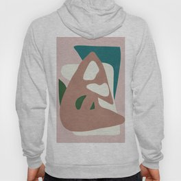 Abstract Minimal Shapes Hoody