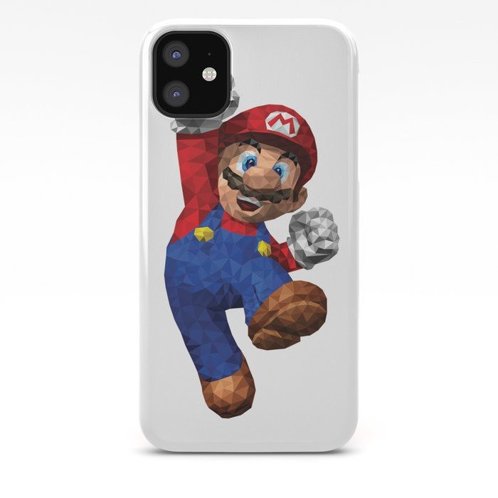 Super Mario Nintendo Illustration Pixel Art Iphone Case By Eightandabit