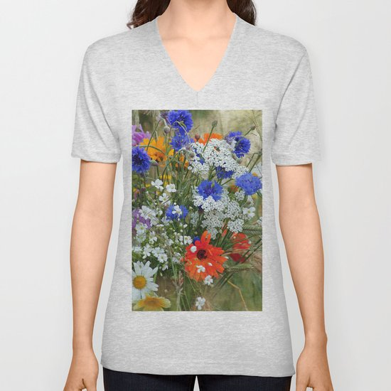 #colorful #Wildflowers in a #summer #meadow #homedecors by tanjariedel