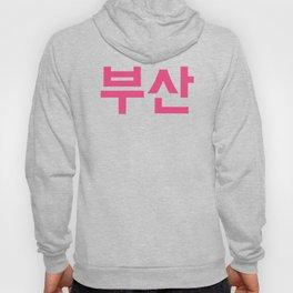 """KOREAN HANGUL """"BUSAN"""" GRAPHIC DESIGN Hoody"""