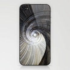 Sand stone spiral staircase iPhone & iPod Skin