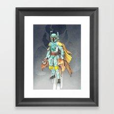 Star Wars Boba Fett and friends Framed Art Print