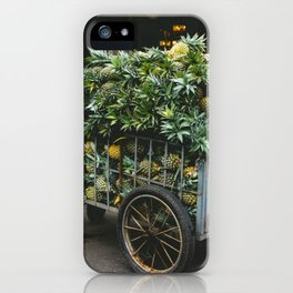 Pineapples in the Market, Hoi An, Vietnam iPhone Case