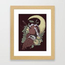 Taste and Pity Framed Art Print