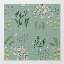 Little Fields Canvas Print