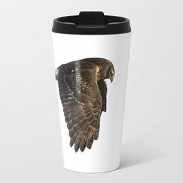 Northern Harrier Hunting, No. 4 Travel Mug