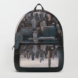 New York City Upside Down Backpack