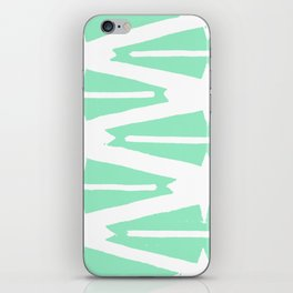 Green Tribal iPhone Skin