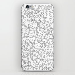 Spirals iPhone Skin