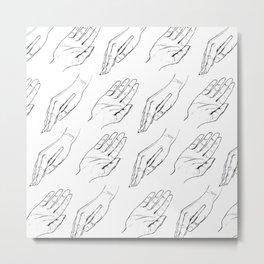Handy Metal Print