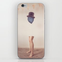 The Top Hat iPhone Skin