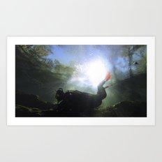 Depths of the Horizon Art Print