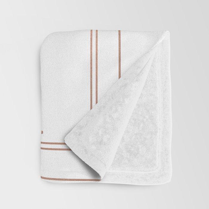 Le Soleil or The Sun Tarot White Edition Throw Blanket