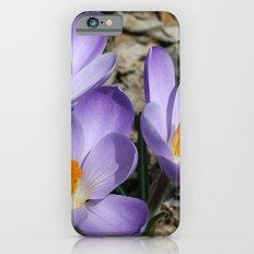 Garden Flowers Slim Case iPhone 6s