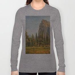 Bridal Veil Falls, Yosemite Valley, California Long Sleeve T-shirt