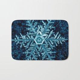 Snowflake - HIGH Bath Mat