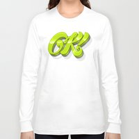 kim sy ok Long Sleeve T-shirts featuring Ok by Roberlan Borges