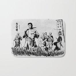 Seven Samurai Bath Mat